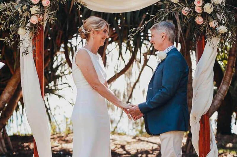 Anita and John Elopements Noosa Kind Words Sunshine Coast Elopements Weddings