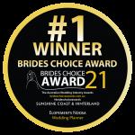 Elopements Noosa Sunshine Coast Brides Choice Award Winner 2021