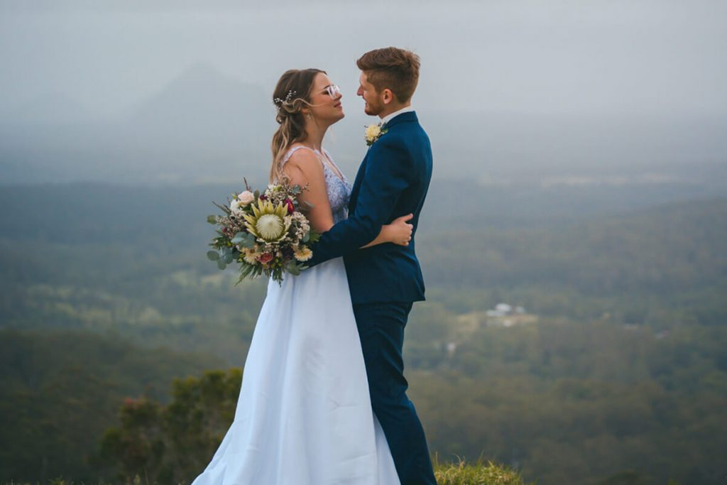 Em and Travis Elopements Noosa Kind Words Sunshine Coast Elopements Weddings