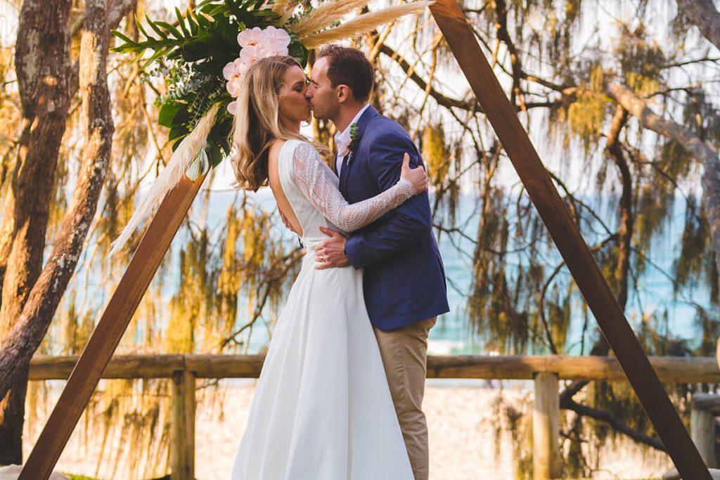Jess and Ryan Elopements Noosa Kind Words Sunshine Coast Elopements Weddings