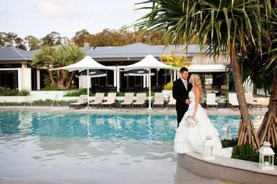 Wedding at Noosa RACV Resort